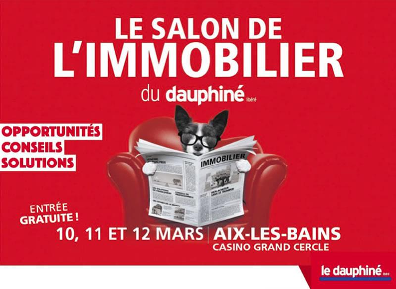 Retrouvez-nous au salon de l'immobilier d'Aix-les-Bains